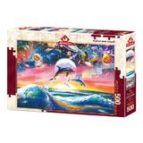 Puzzle Universal Dolphins, 500 piese