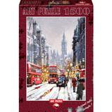 Puzzle Whitehall In Snow, 1500 piese
