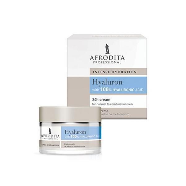 Cosmetica Afrodita - Crema HYALURON 24h pentru ten normal, mixt 50 ml imagine produs