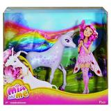 Unicornul Flair Mattel din povestea Mia and Me 28x30cm