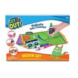 Set Cut it Out Design Studio, Decupeaza si coloreaza