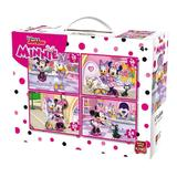 Puzzle 4 in 1 Minnie Mouse, 72 piese