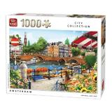 Puzzle 1000 piese, Amsterdam