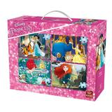 Puzzle 4 in 1, Princesses