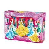 Puzzle 4 in 1 Princess