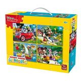 Puzzle 4 in 1, Mickey Mouse