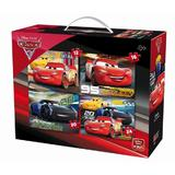 Puzzle 4 in 1, Cars 3