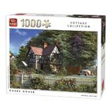 Puzzle 1000 piese, Roses House