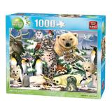 Puzzle 1000 piese, Animal World- Arctic Life