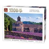 Puzzle 1000 piese, Manastirea Senanque, Provence, Franta