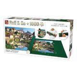 Puzzle 1000 piese + covoras, Franta - Burgundia