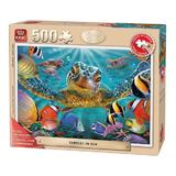 Puzzle 500 piese Turtles In The Sea