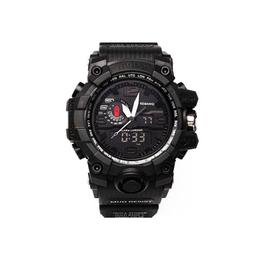 Ceas Barbatesc KEMANQI CS1002, curea silicon, digital watch, Functii- alarma, ora, rezistent 3ATM