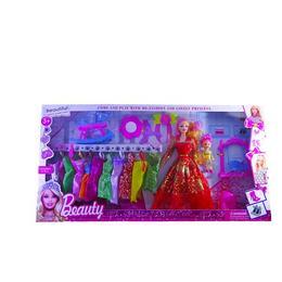 Set doua papusi cu accesorii Disney Toy