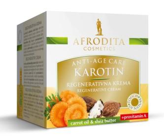 Cosmetica Afrodita - Crema ACTIV REGENERANTA KAROTIN antirid & efect lifting 50 ml imagine produs