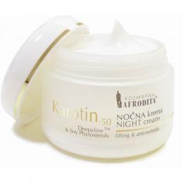Cosmetica Afrodita - Crema de noapte KAROTIN 50 ml