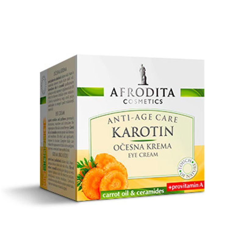 Crema Contur Ochi - Cosmetica Afrodita Karotin Eye Cream 15 ml imagine produs