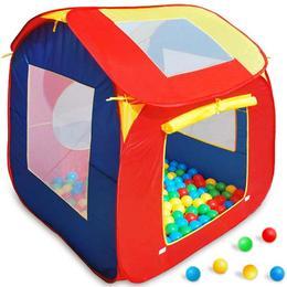 Cort de joaca pentru copii, 200 bile colorate incluse