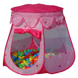 Cort de joaca pentru copii, 100 bile colorate incluse