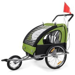 Remorca de bicicleta Samax - verde