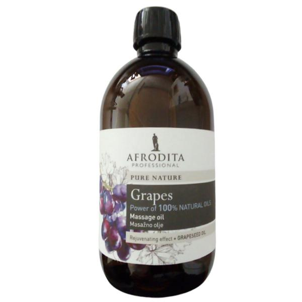 Cosmetica Afrodita - Ulei masaj facial si corporal din seminte de struguri 500 ml