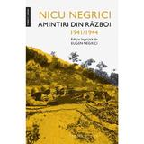 Amintiri din razboi - Nicu Negrici, editura Humanitas