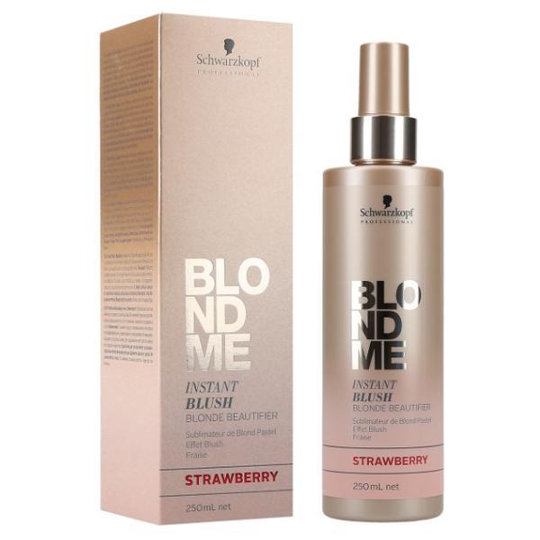 Spray Nuantator pentru Par Blond - Schwarzkopf Blond Me Instant Blush Blonde Beautifier Strawberry, 250ml imagine produs