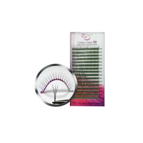 Extensii de gene Ibeauty 3D Mix curbura D imagine produs