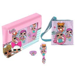 Set geanta de umar reglabila LOL Surprise Colectia Let's be friends cu accesorii