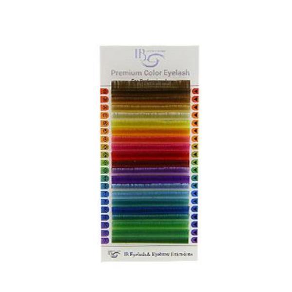 Extensii de gene IBeauty Color Mix D 0.10 imagine produs