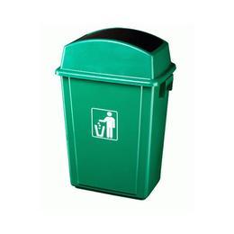 Cos RAKI ICIKALA PROFI pentru gunoi cu capac batant 40L 41x28x60cm culoare verde