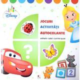 Disney. jocuri, activitati, autocolante. animale, culori, cuvinte opuse