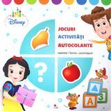 Disney. jocuri, activitati, autocolante. numere, forme, anotimpuri