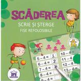 Scaderea. Scrie si sterge. Fise refolosibile, editura Didactica Publishing House
