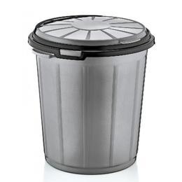 Cos pentru gunoi RAKI ICIKALA 50lt MN0151322 gri