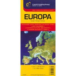 Harta Europa, editura Cartographia
