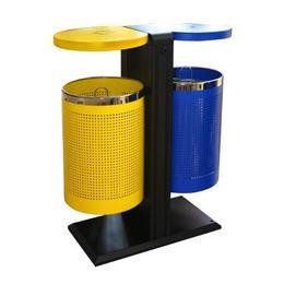 Coș de gunoi RAKI ICIKALA dual extern 82,5x40x94x5cm, multicolor