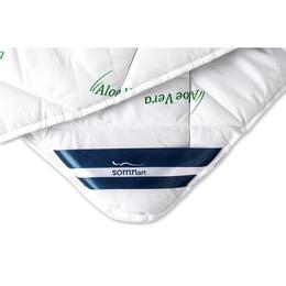 Pilota Somnart matlasata imprimeu Aloe Vera 150x210 cm