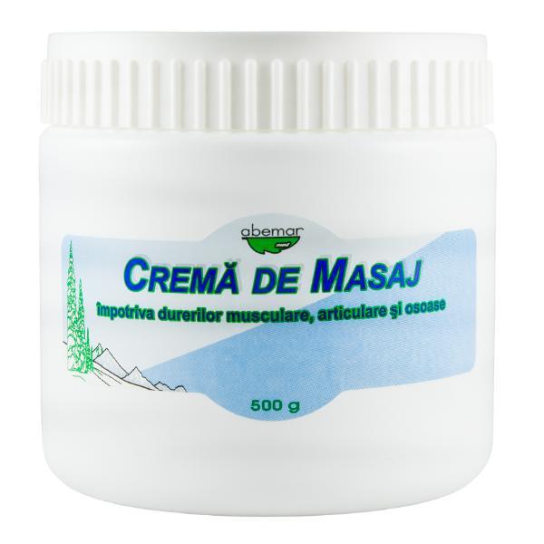 Crema de Masaj pentru Dureri Musculare, Articulare si Osoase Abemar Med, 500g imagine produs