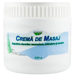 Crema de Masaj pentru Dureri Musculare, Articulare si Osoase Abemar Med, 500g
