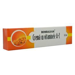 Crema cu Vitaminele A+E Rombalsam Hipocrate, 50 ml