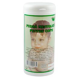 Pudra Mentolata pentru Copii Abemar Med, 75g