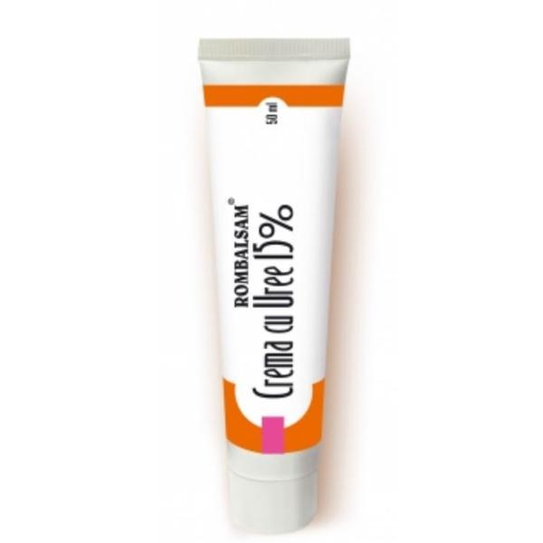 Crema Cu Uree 15% Rombalsam Hipocrate, 50 ml imagine produs