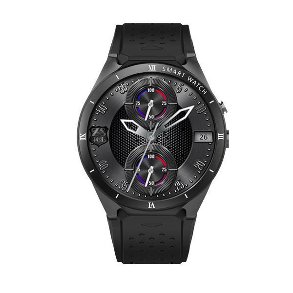 Ceas smartwatch Kingwear KW88 Pro procesor Quad Core 1.3GHz 1G Ram + 16G ROM 3G display 1.39inch UHD AMOLED cu touch screen rezolutie 400 * 400 pixeli