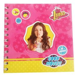 Agenda jurnal Soy Luna spirala roz