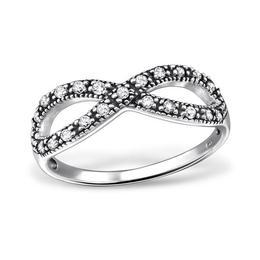 Inel Forever Young din argint cu pietre din zirconiu, Adorabel, 57 EU, 8 US