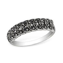 Inel de argint cu pietre din zirconiu, Adorabel, 55 EU, 7 US