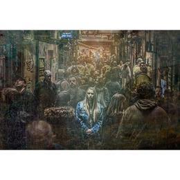 Tablou Canvas cu Oameni 136 - 80 x 120 cm