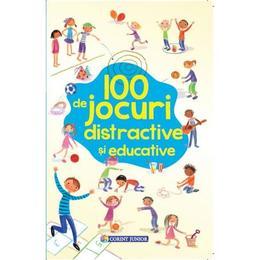 Imagine 100 De Jocuri Distractive Si Educative - Corint