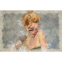 Tablou Canvas Artistic 052 - 80 x 120 cm
